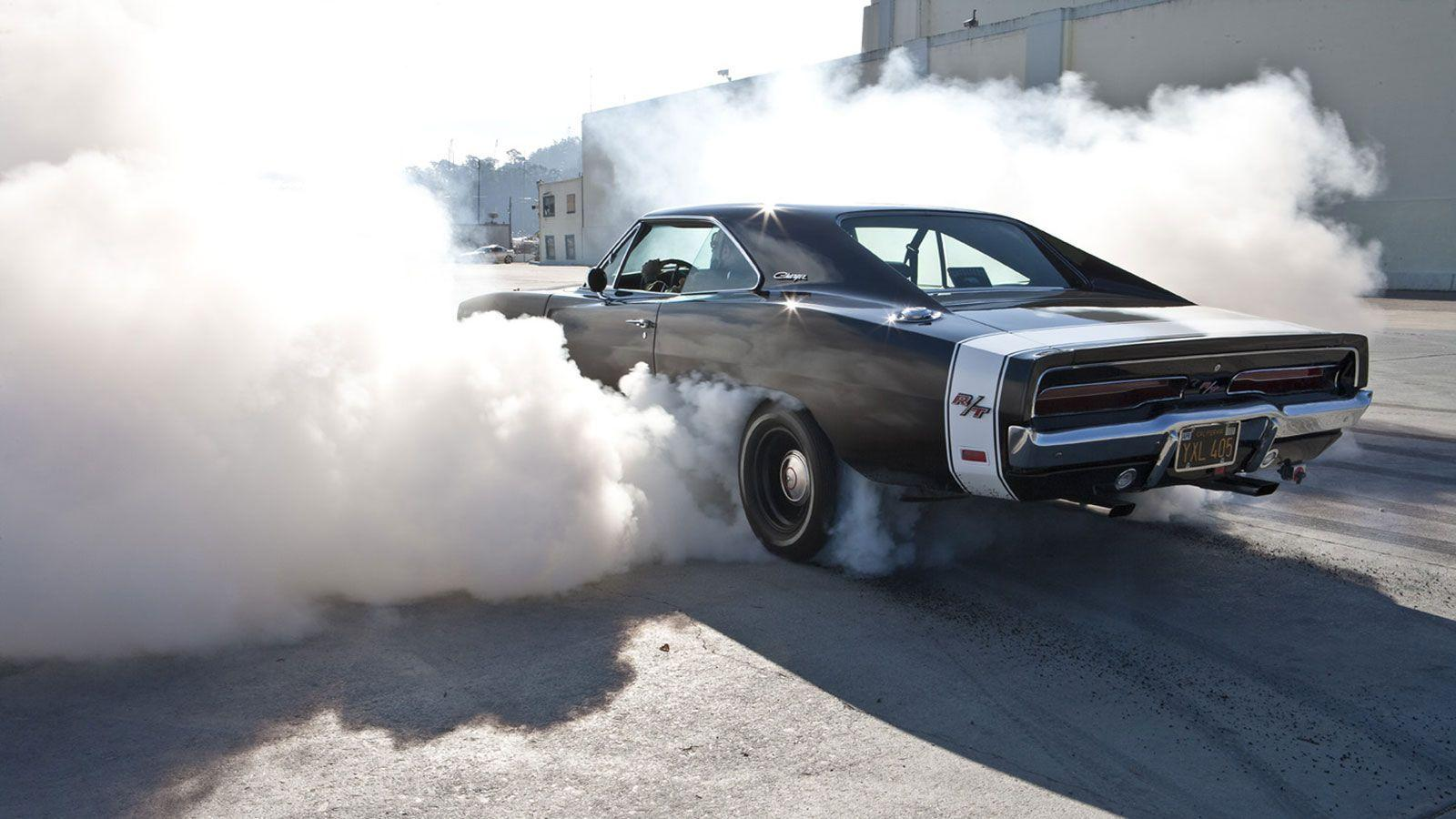Dodge charger hot rod muscle cars burnout race track drag racing ...