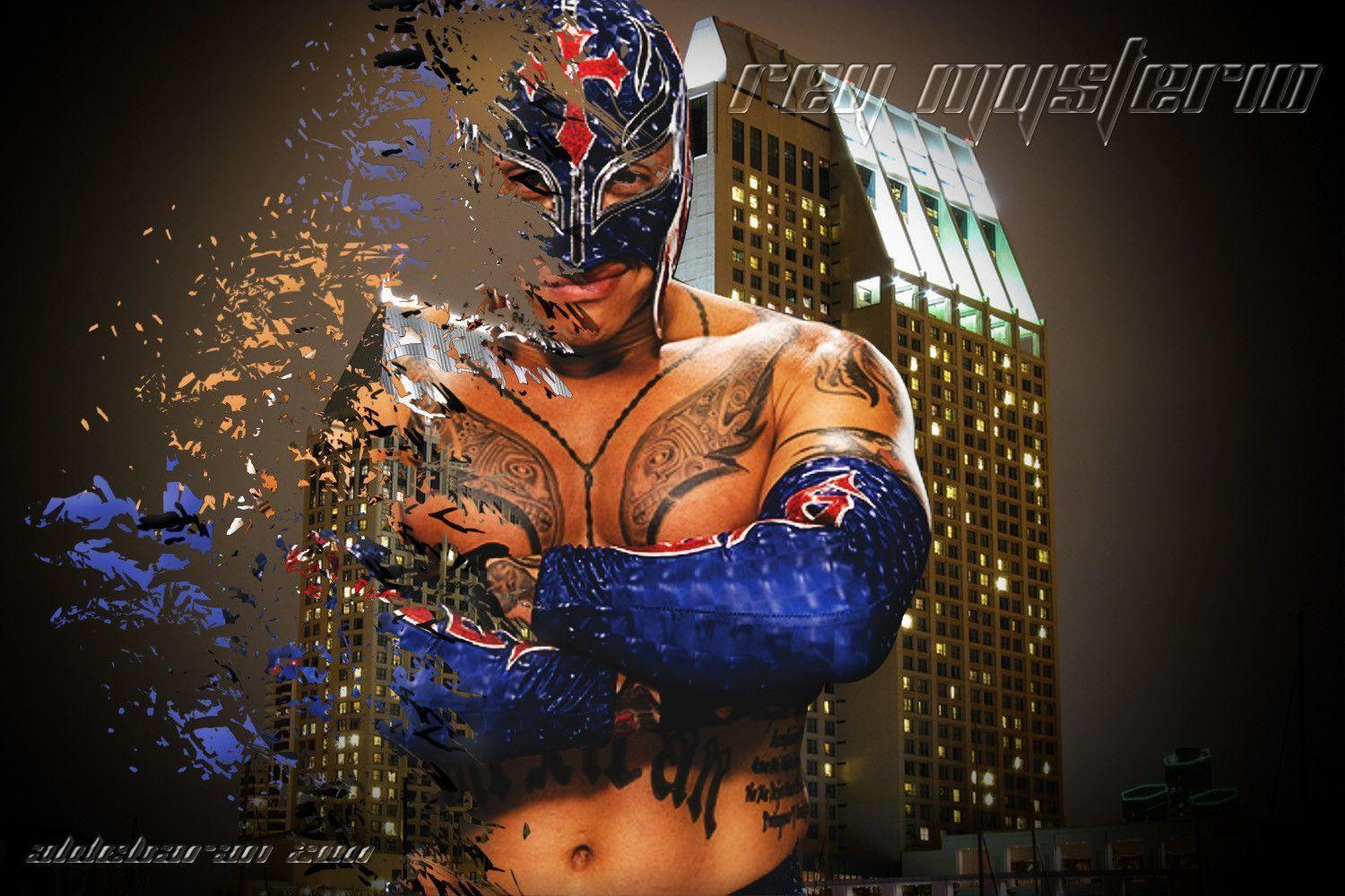 Rey mysterio backgrounds wallpaper cave - Wwe 619 images ...