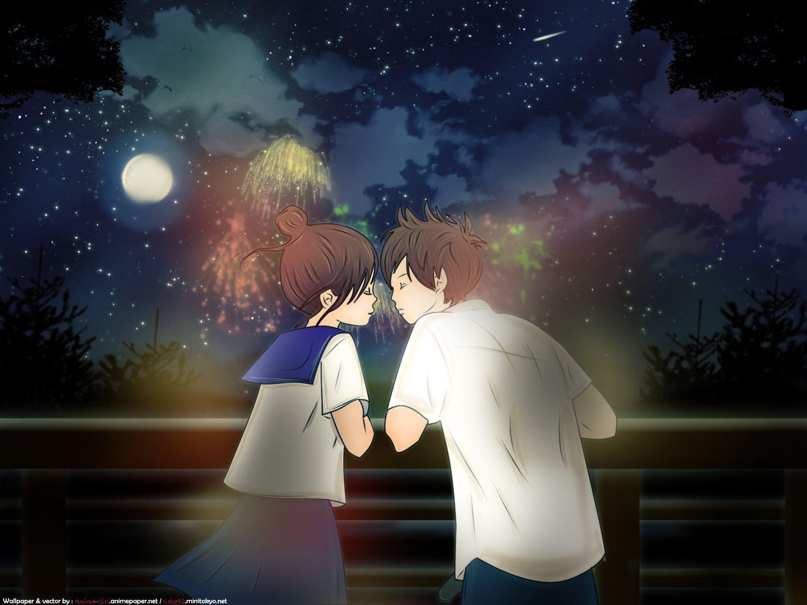 romantic anime wallpaper - photo #2