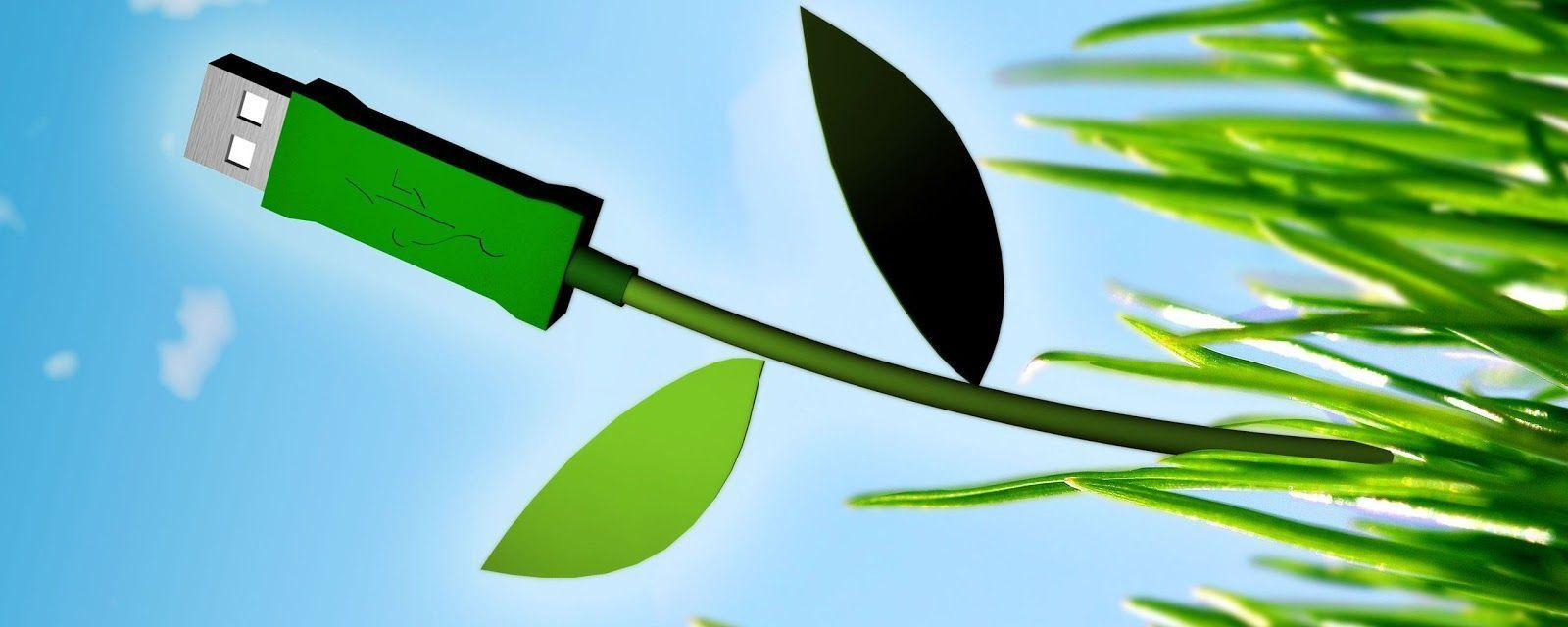 Wallpapers For > Green Technology Wallpaper