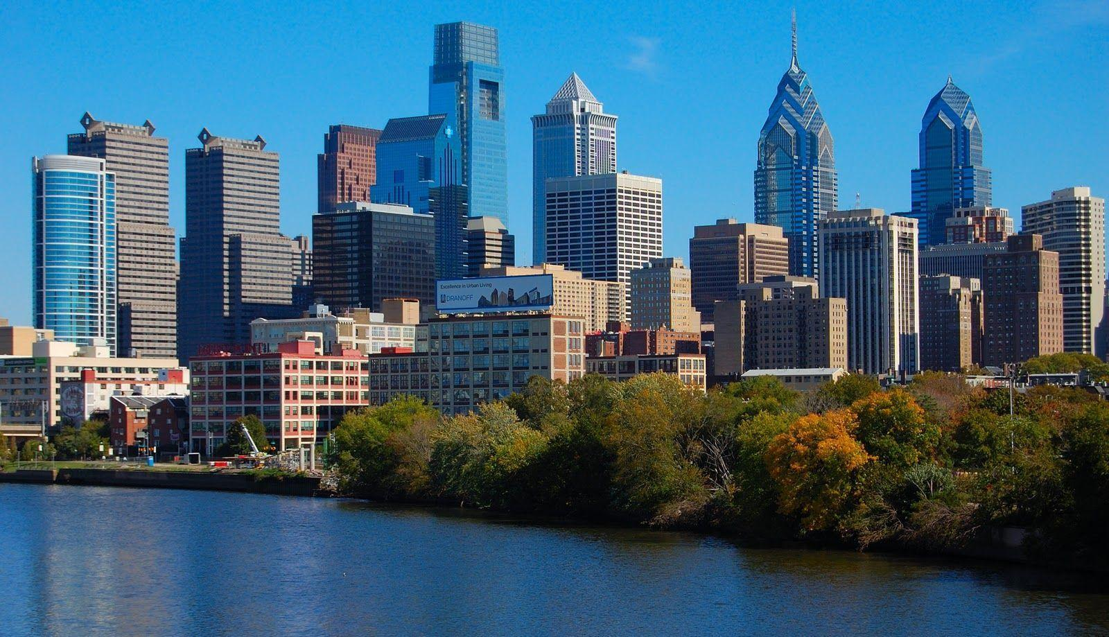 philadelphia skyline wallpaper - photo #3