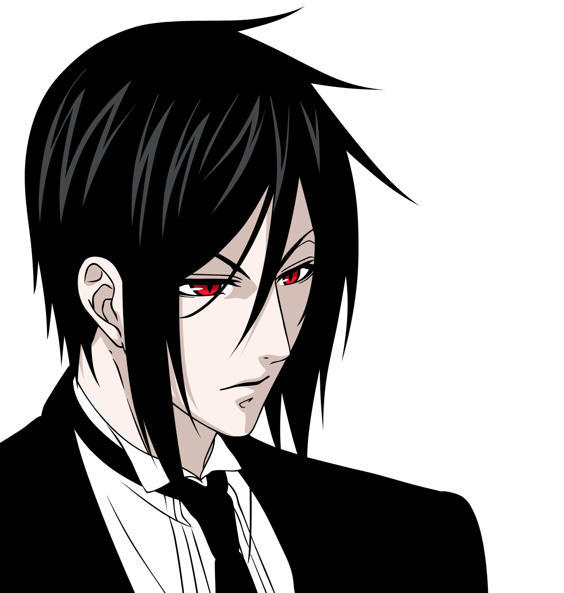 Black Butler Sebastian And Cat Wallpaper - Viewing Gallery