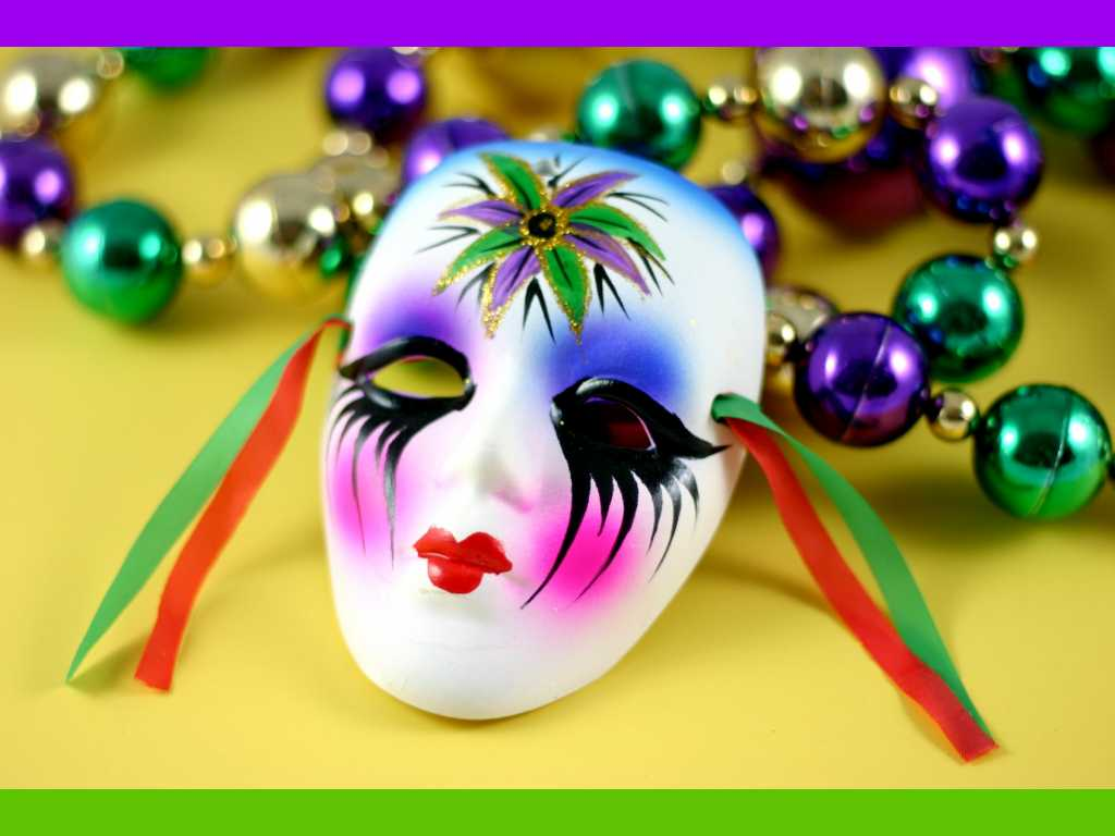 mardi gras lonely mask Wallpapers