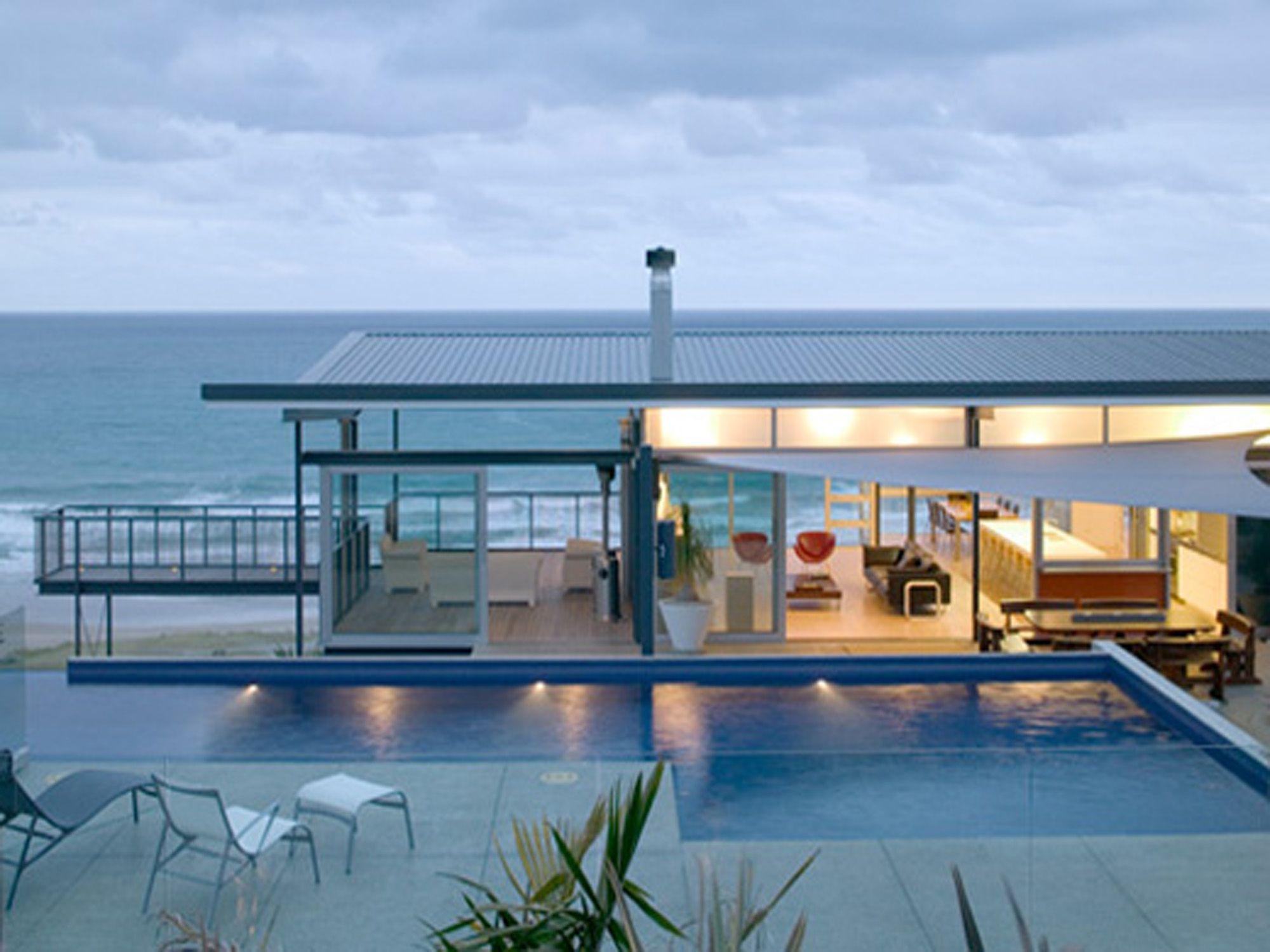 Beach modern homes