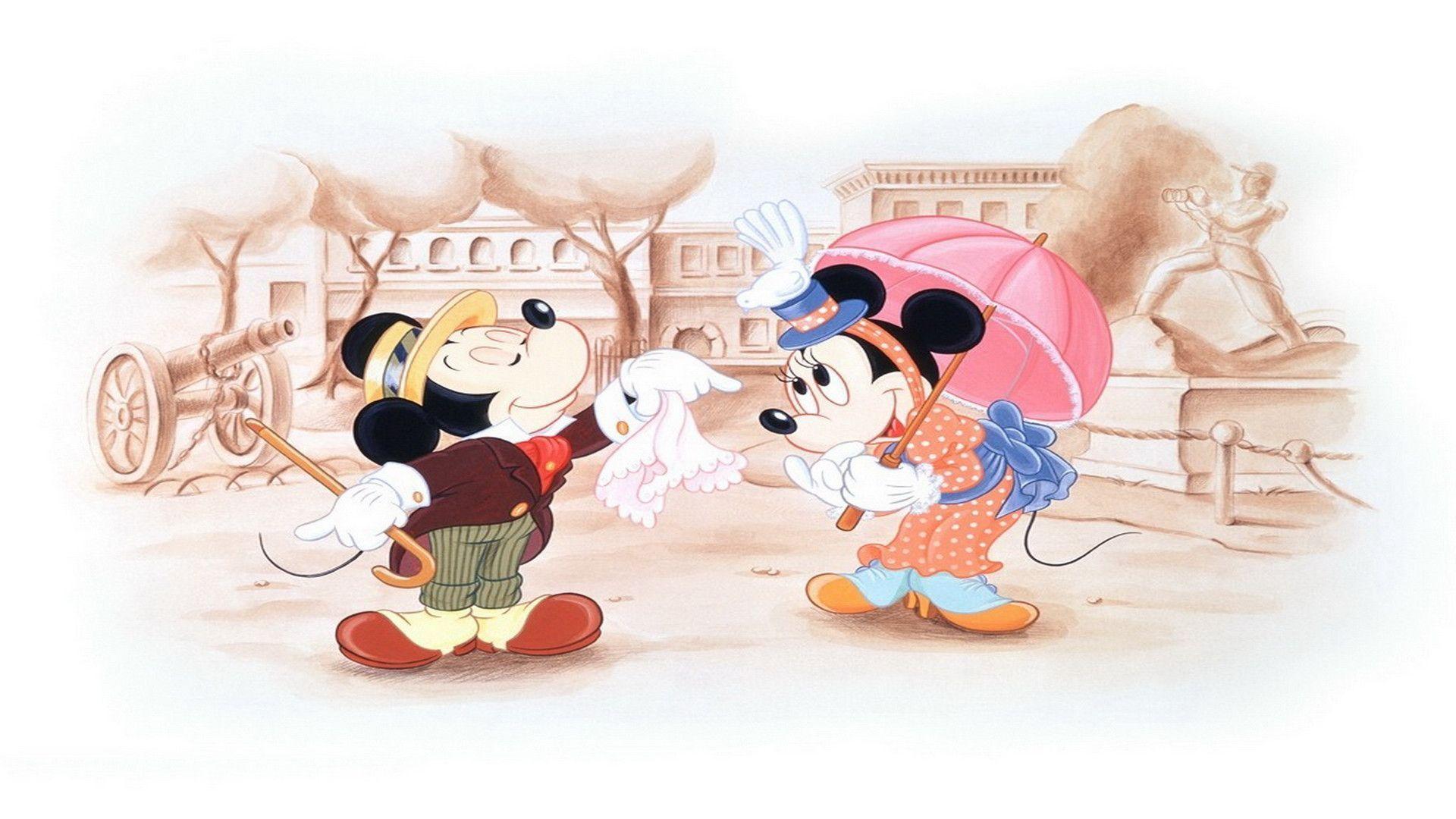 outstanding minnie wallpaper mickey - photo #40