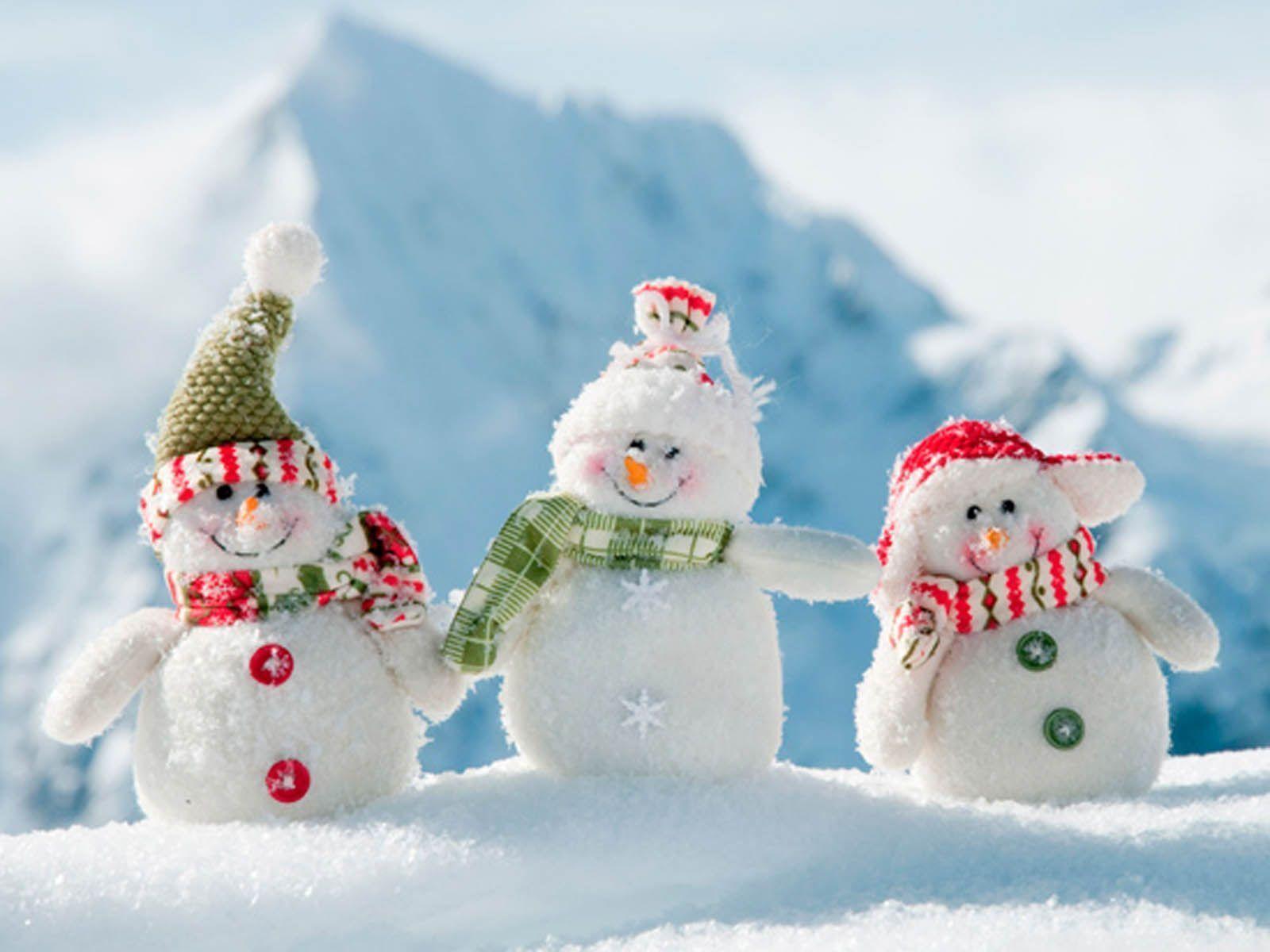Free Snowman Desktop Wallpapers