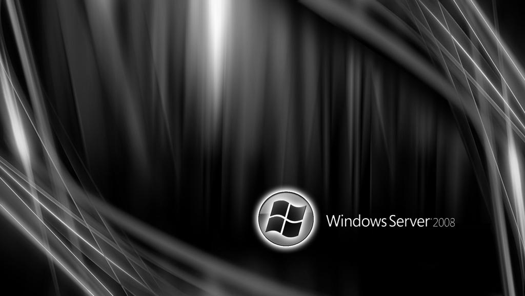 Server 2008 r2 log on back ground.