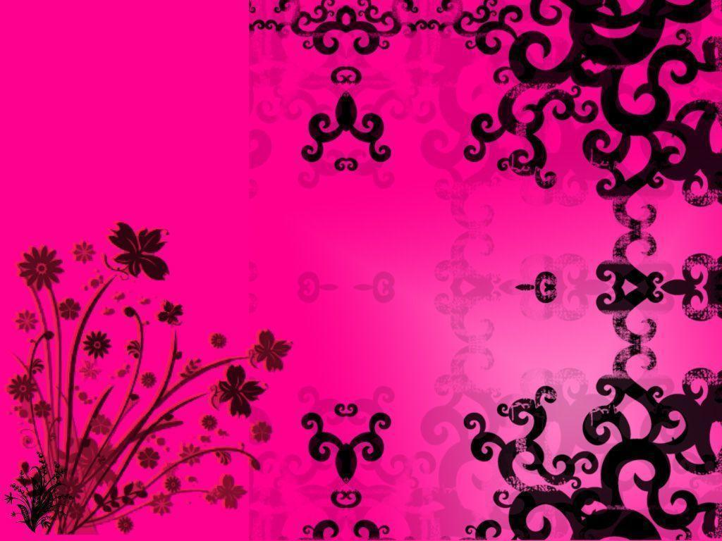 Cool Pink And Black Backgrounds
