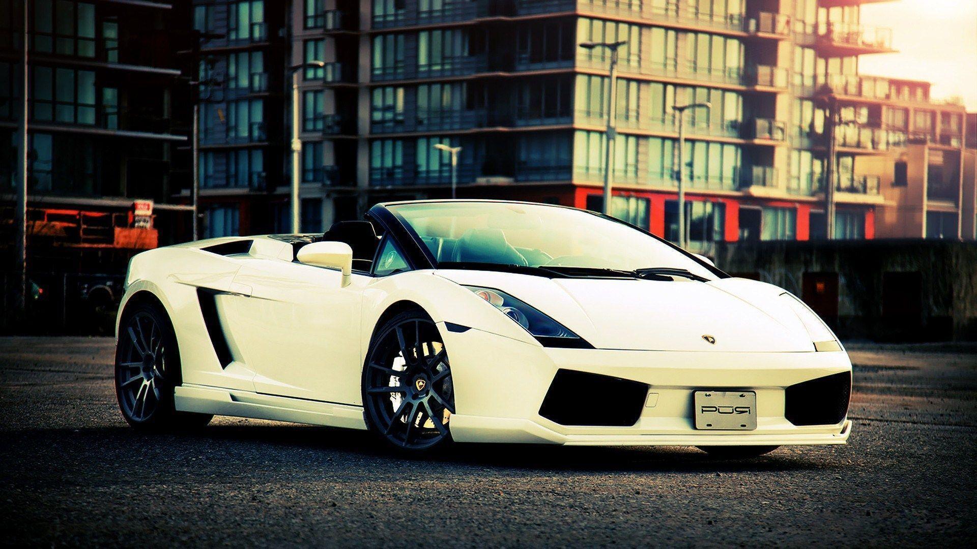 Background Car Hd Wallpapers Cities: Lamborghini Gallardo Wallpapers HD