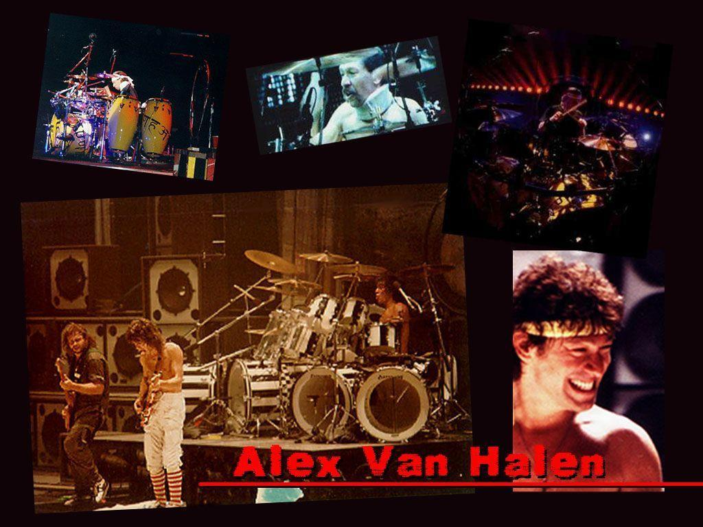 Alex Van Halen Wallpaper
