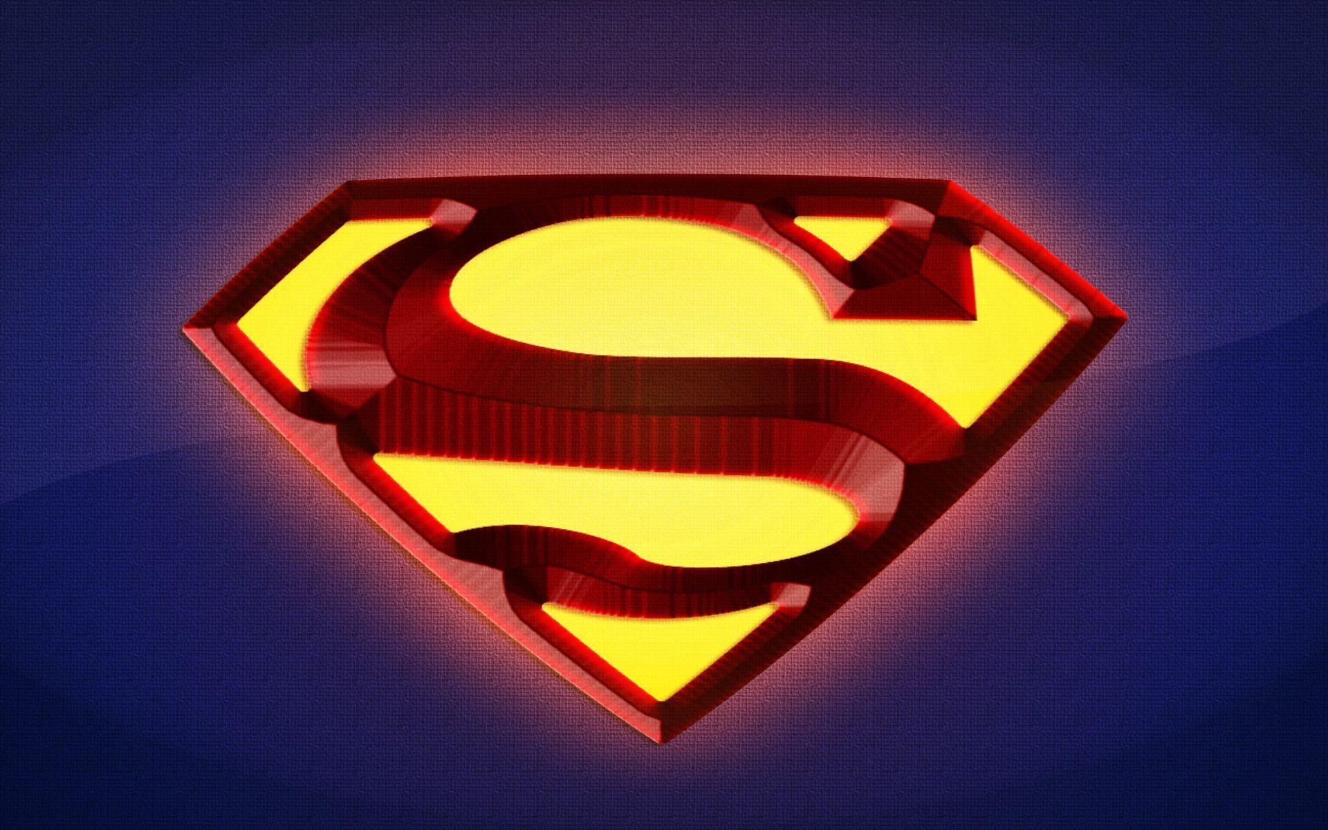 superman logo fire hd - photo #5