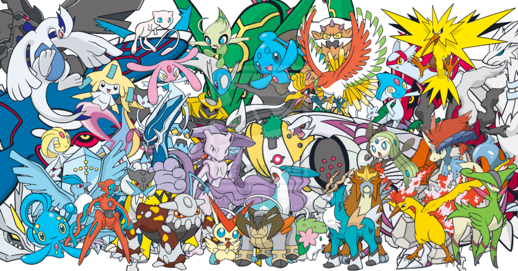 All Legendary Pokémon Wallpapers - Wallpaper Cave