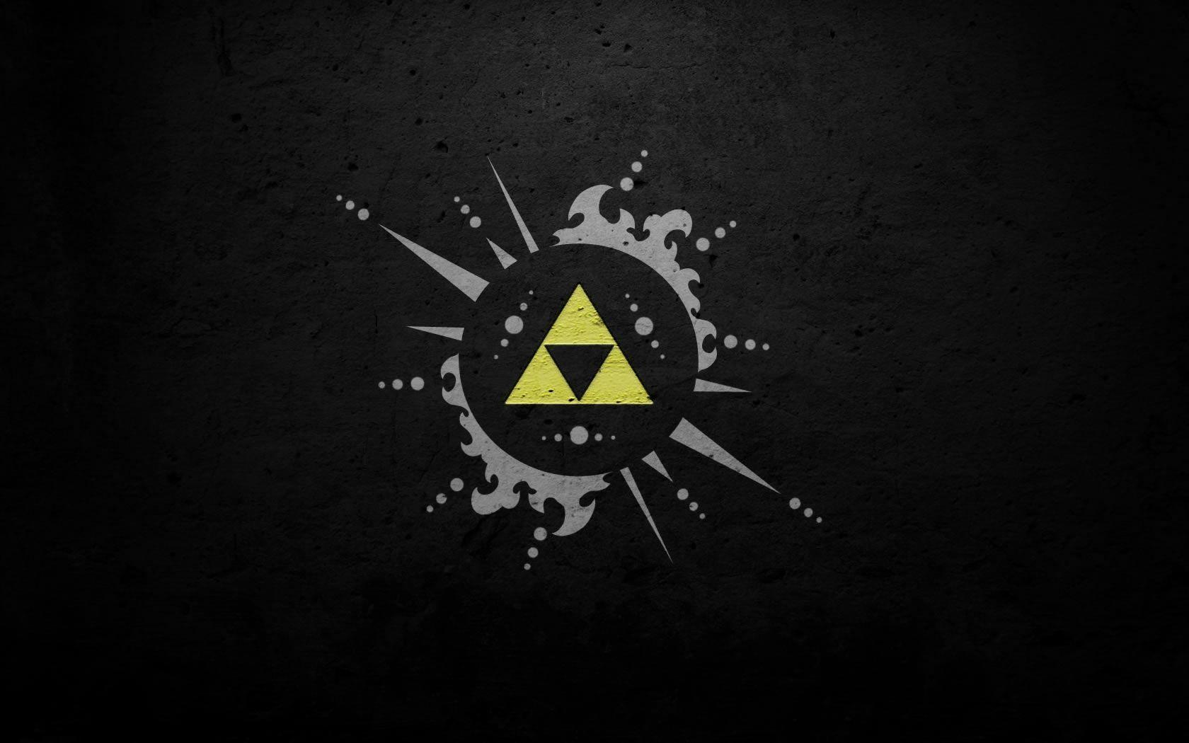 Download Black Triforce Wallpapers 1680x1050