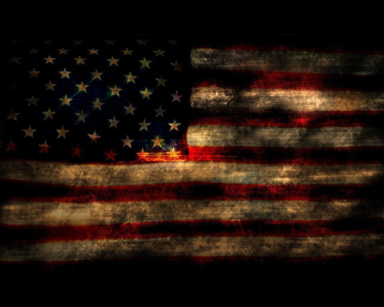 usa flag old style by jann1c