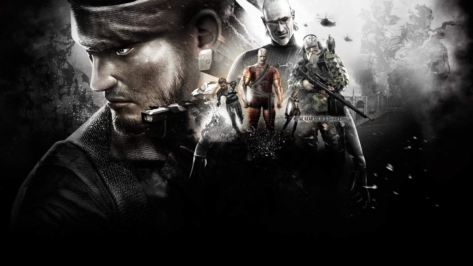 Metal gear solid 3 wallpapers wallpaper cave for Wallpaper three