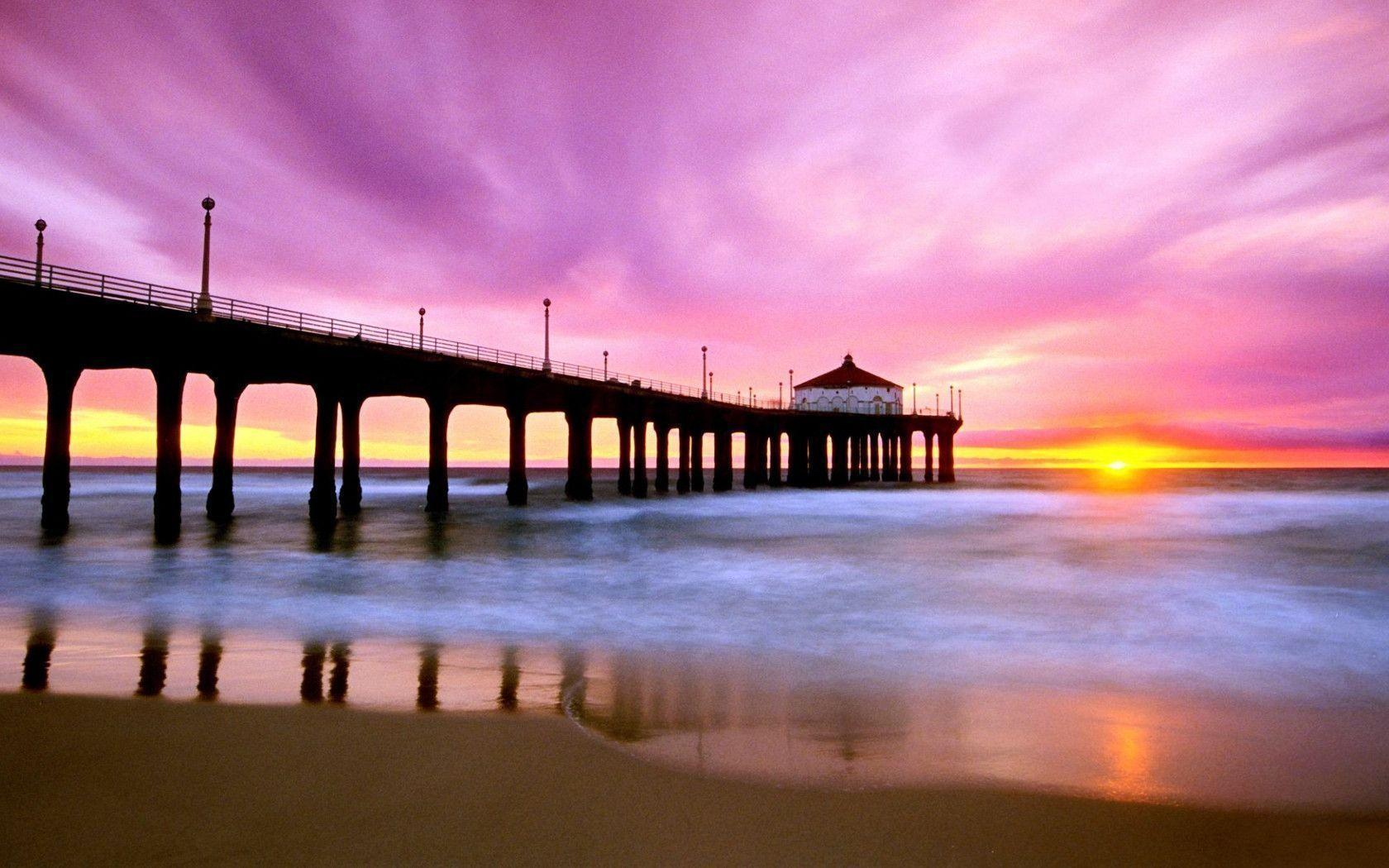 Manhattan Beach Wallpaper