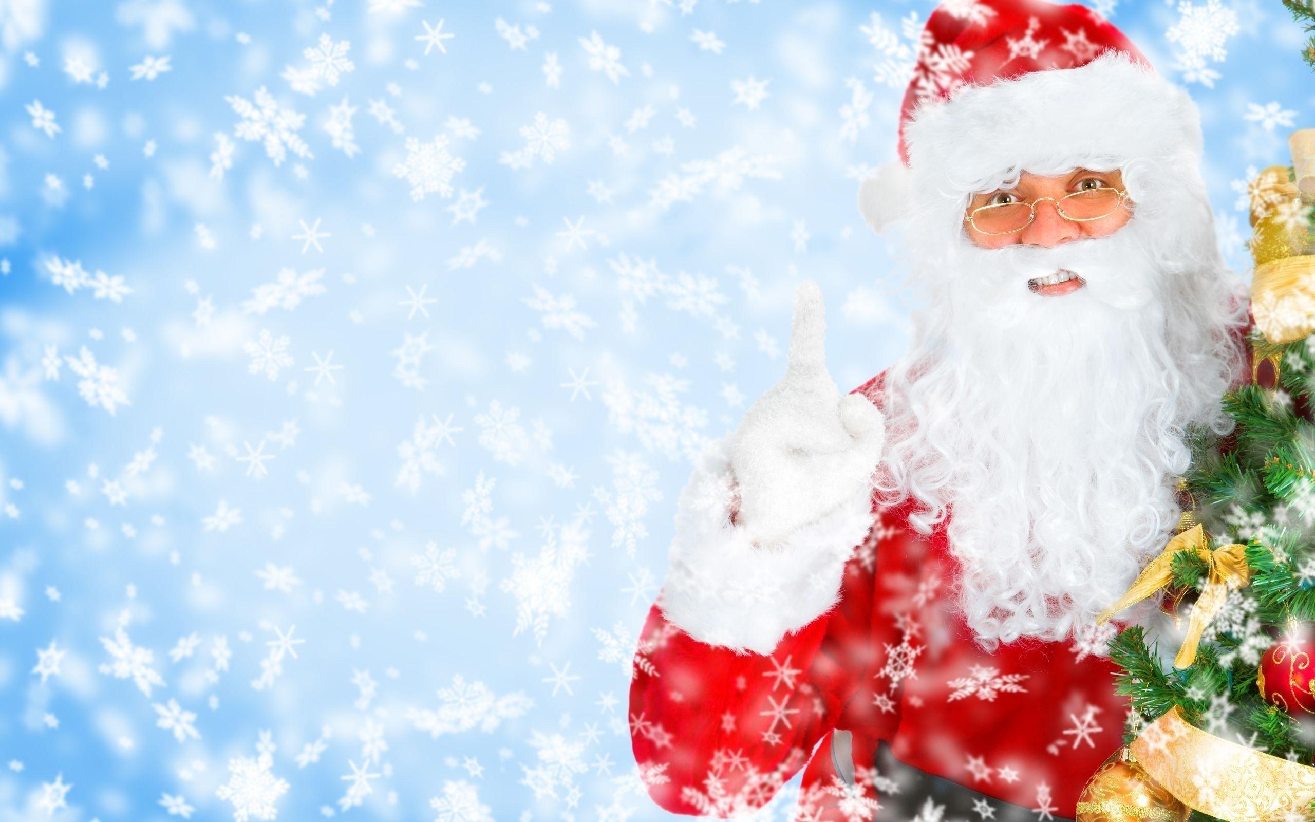 Santa Claus Backgrounds Wallpaper Cave