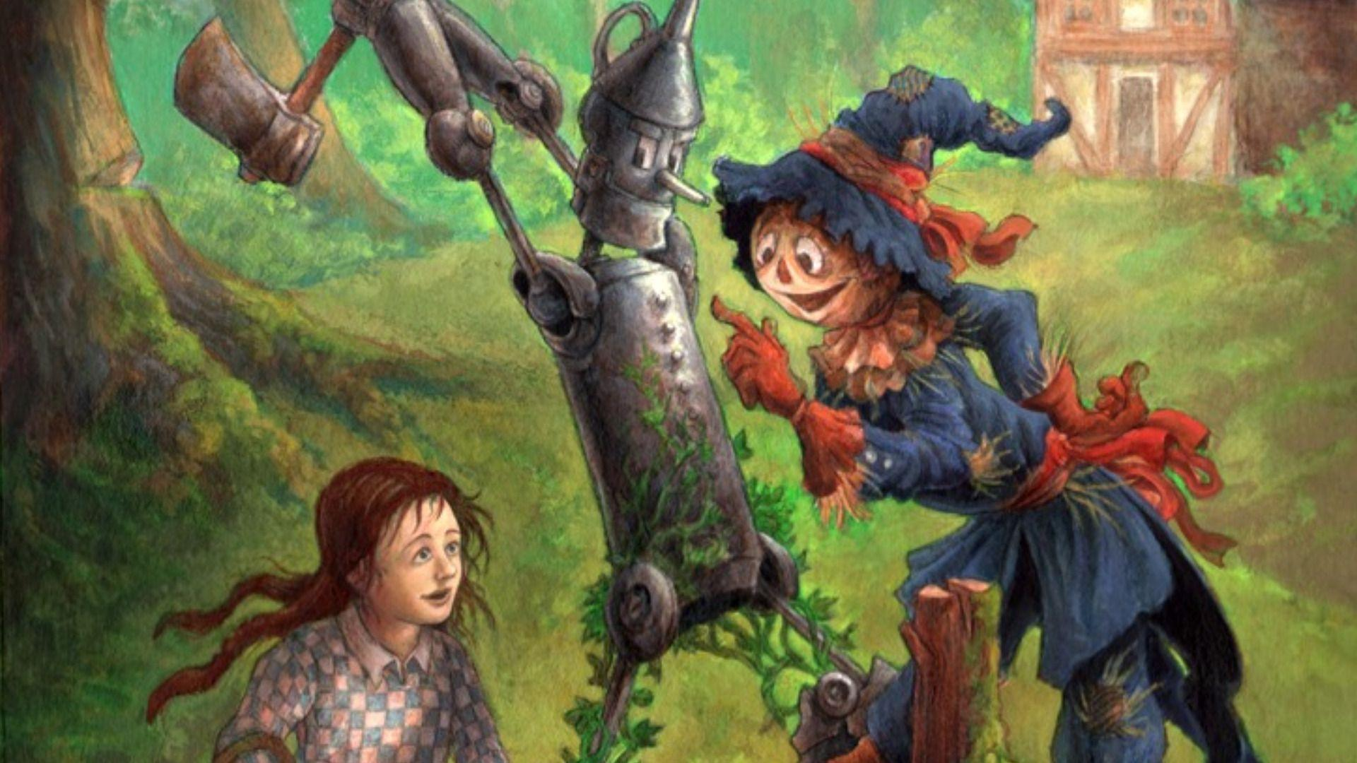 Wizard of oz wallpapers wallpaper cave - The wizard of oz hd ...