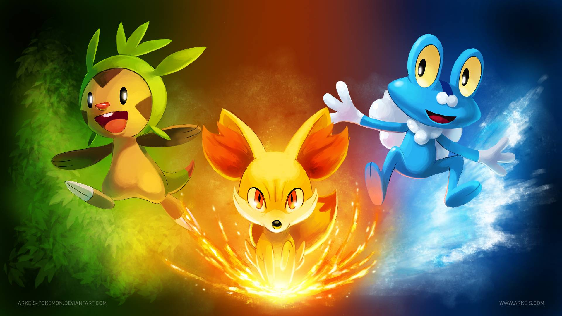 pokemon x and y hd wallpaper « GamingBolt.com: Video Game News ...