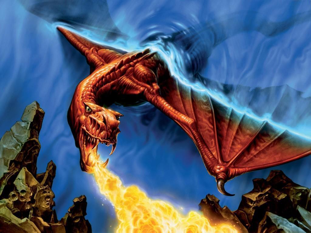 miscellaneous fire dragon picture - photo #36