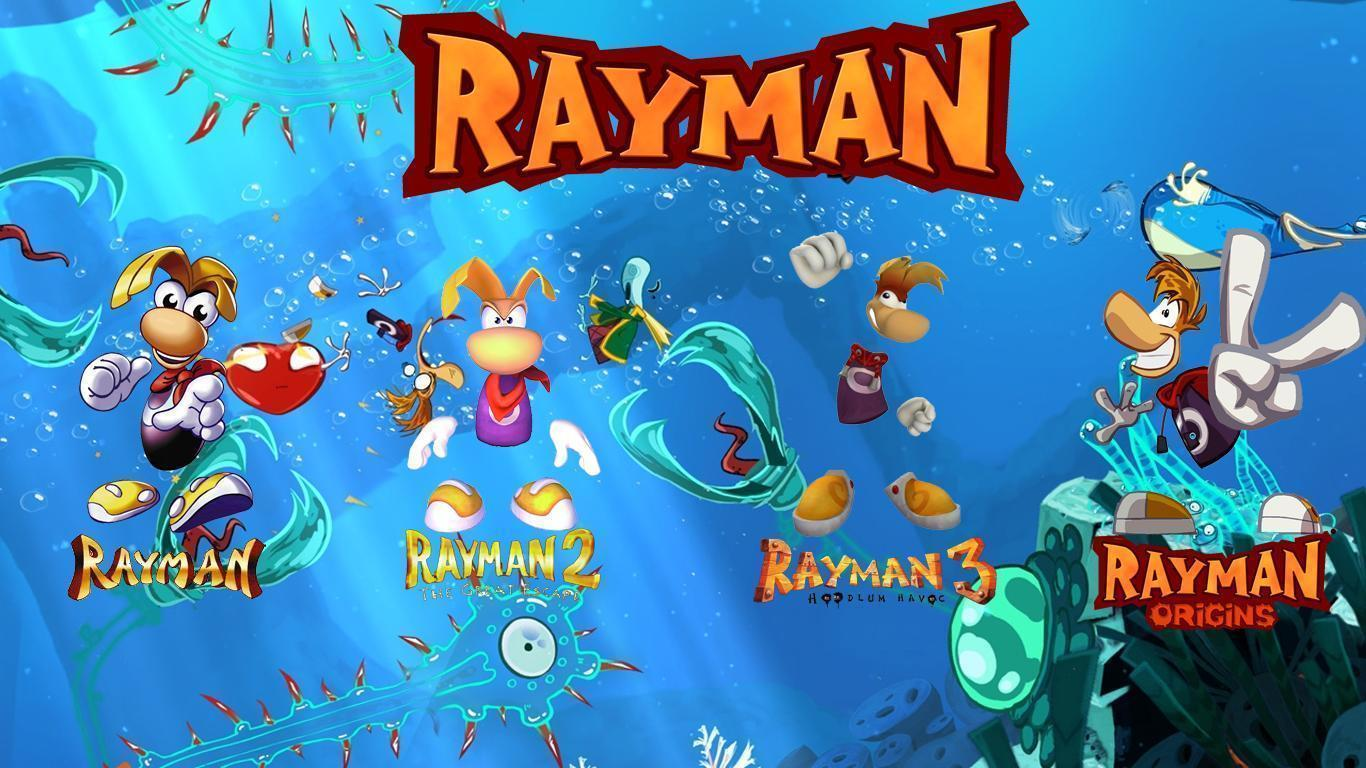 Rayman Wallpapers by MoKDesigns