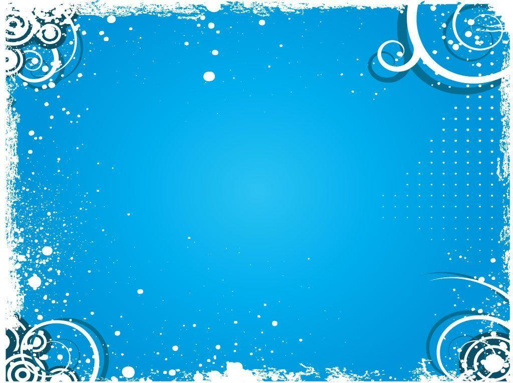 Winter Blue Vector Backgrounds