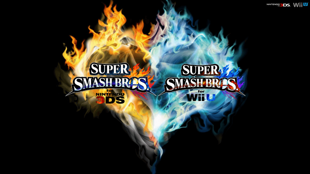 Super Smash Bros. Wii U/3DS Logo Wallpapers by TheWolfBunny on