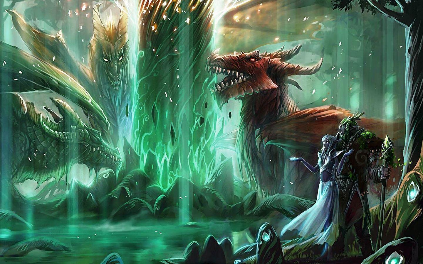 Great Green World Of Warcraft 6734 HD Wallpapers Pictures