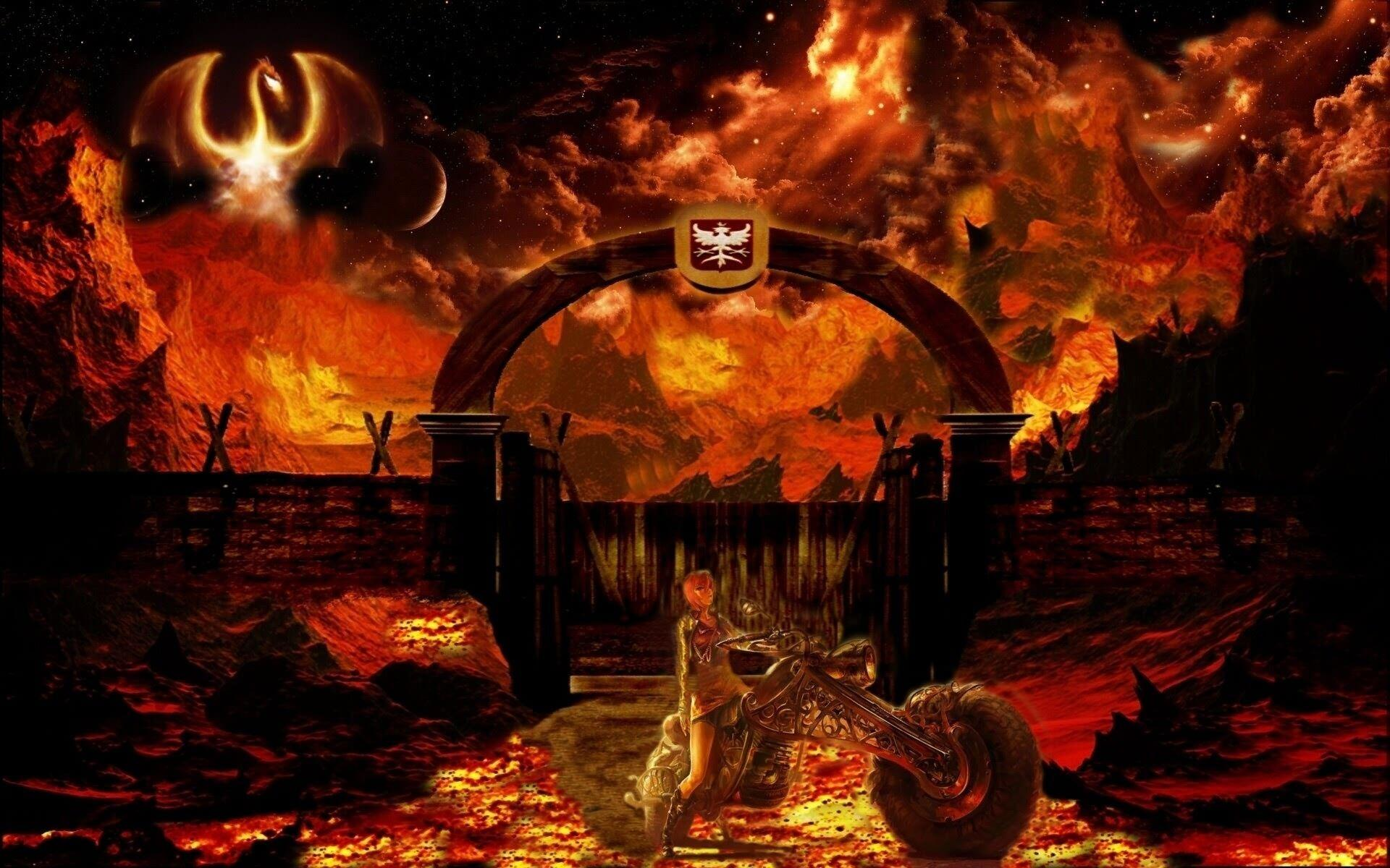 hell background - photo #35
