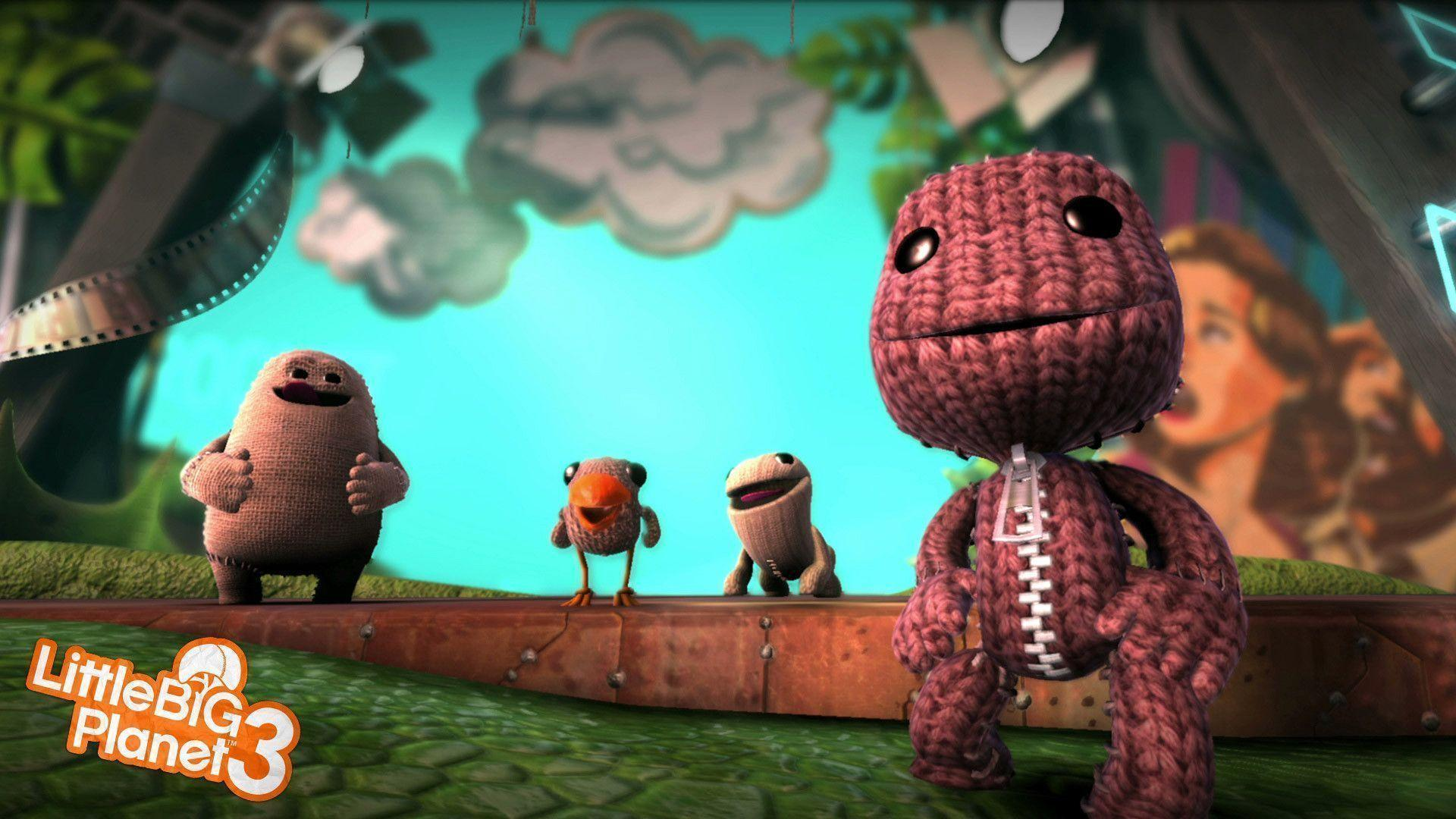 Little Big Planet 3 Game Wallpapers HD