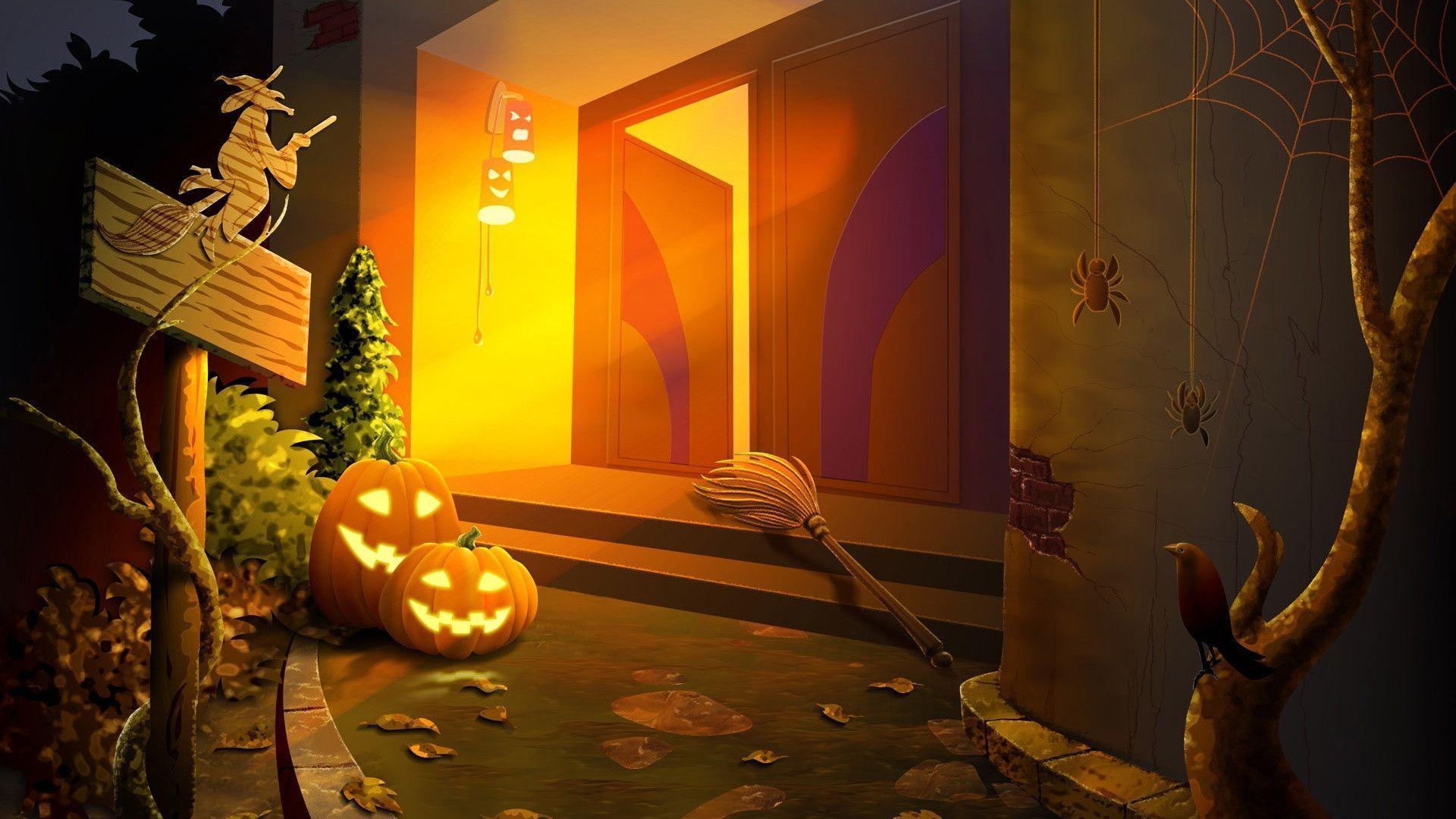 Halloween Pictures Wallpapers - Wallpaper Cave