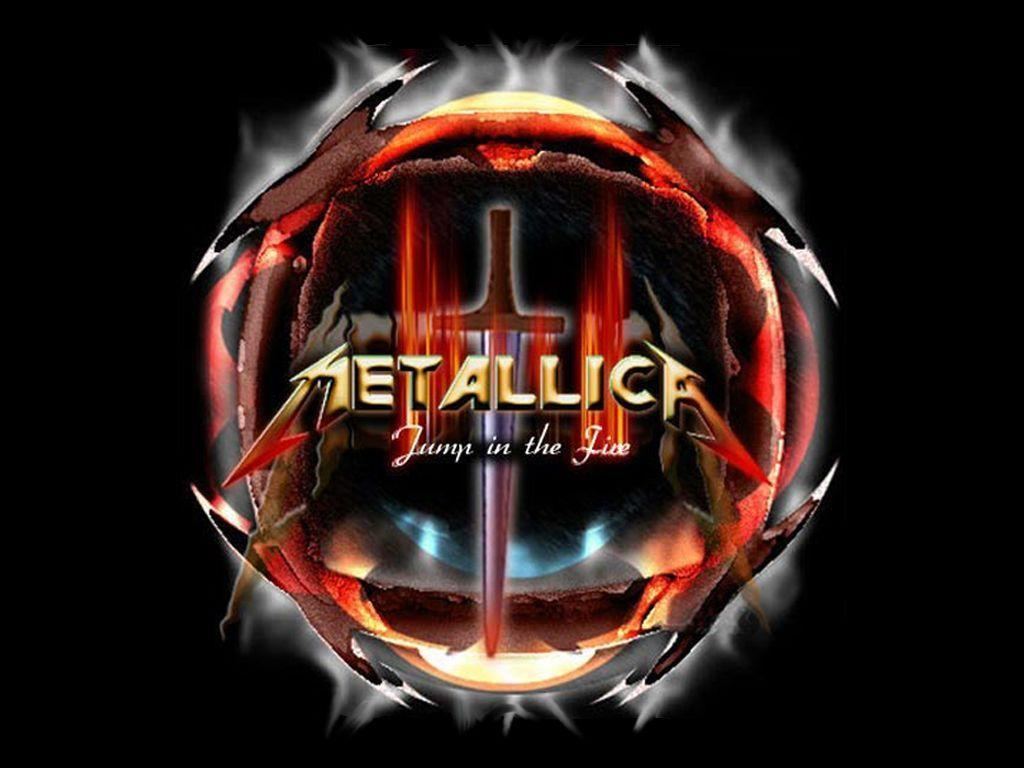 metallica lighting logo wallpaper - photo #36