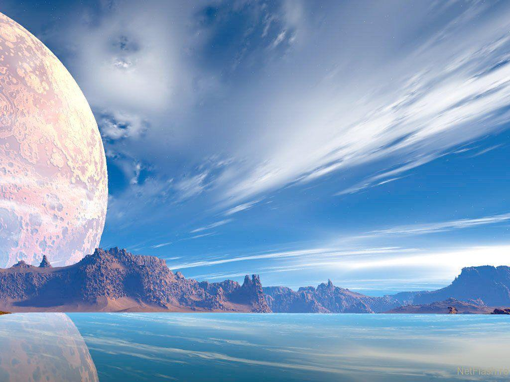 Alien planet and Space Wallpapers - Art And Designs