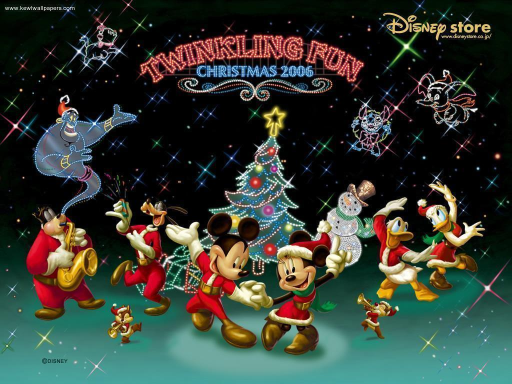Disney Christmas Desktop Wallpaper