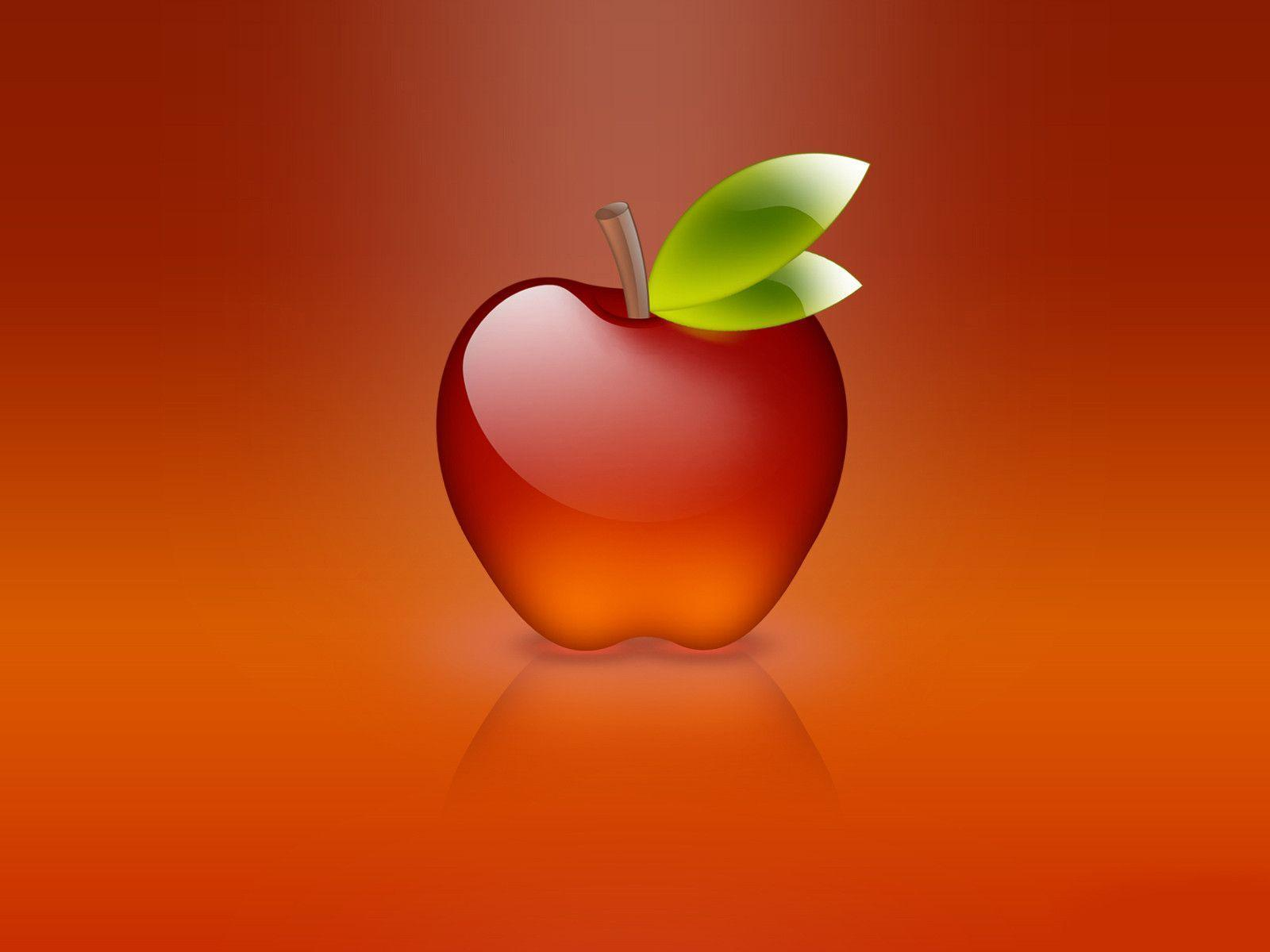 Apple Glass Wallpaper | Free | Download