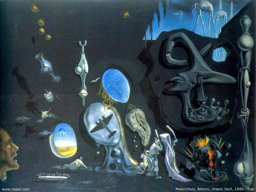 My Free Wallpapers - Artistic Wallpaper : Salvador Dali ...
