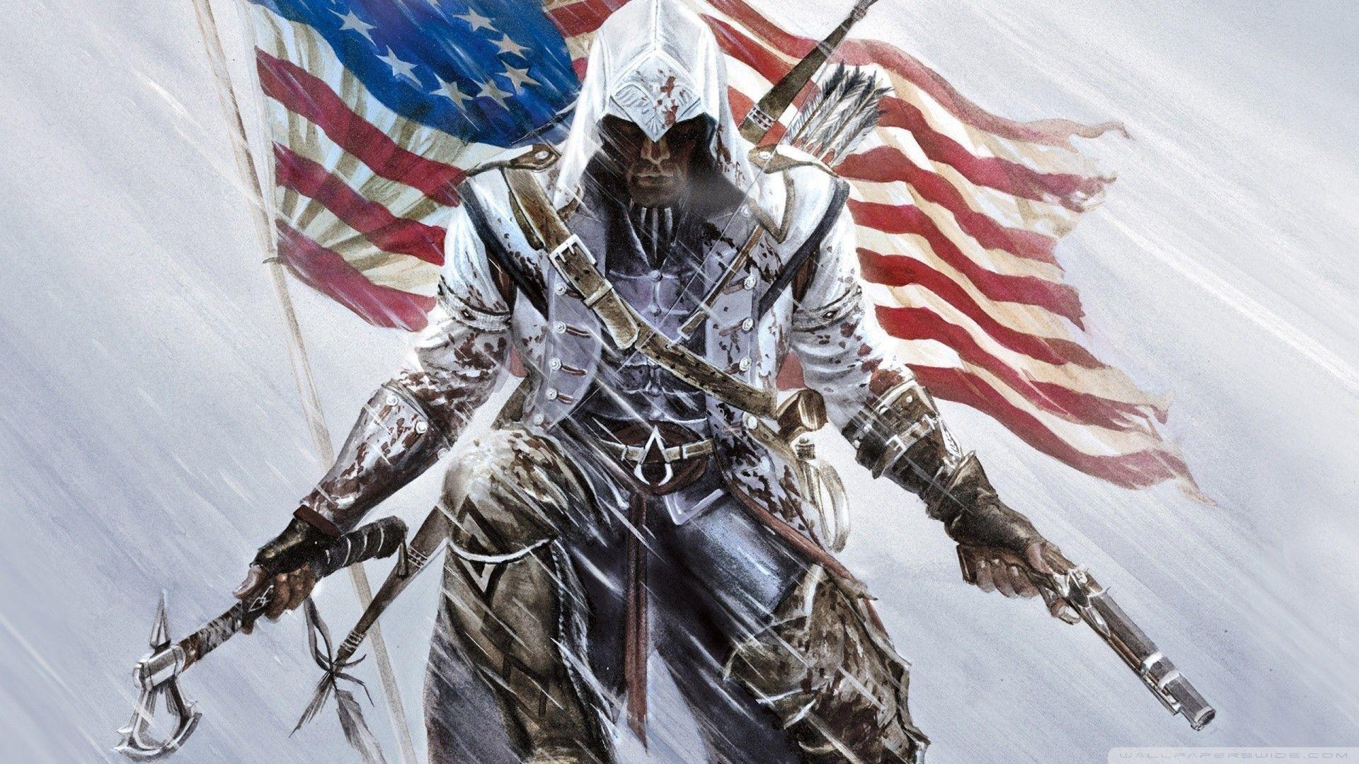 Assassins Creed 3 games hd wallpaper   Background HD Wallpaper for ...