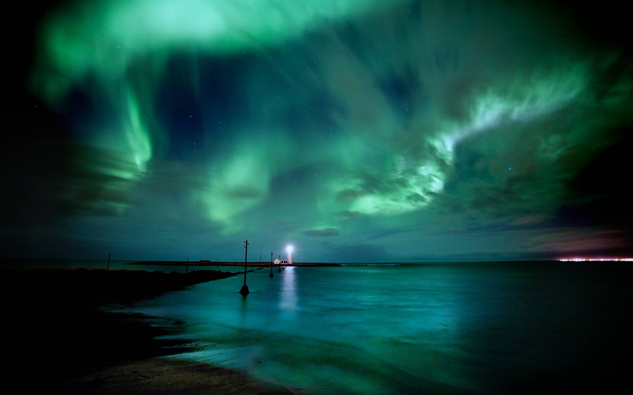 Northern Lights Backgrounds – 2560×1600 High Definition Wallpapers