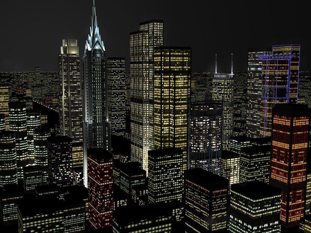 Gotham city - Gotham city skyline - Gotham city background - City ...