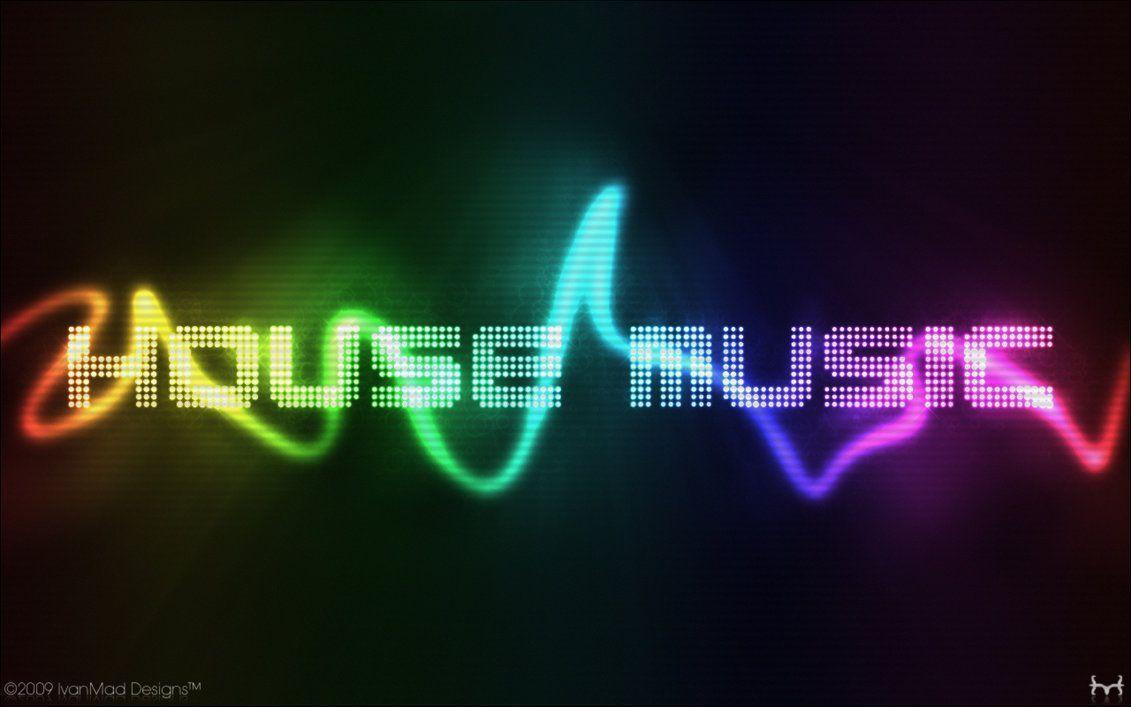Wallpapers For > I Love House Music Wallpaper