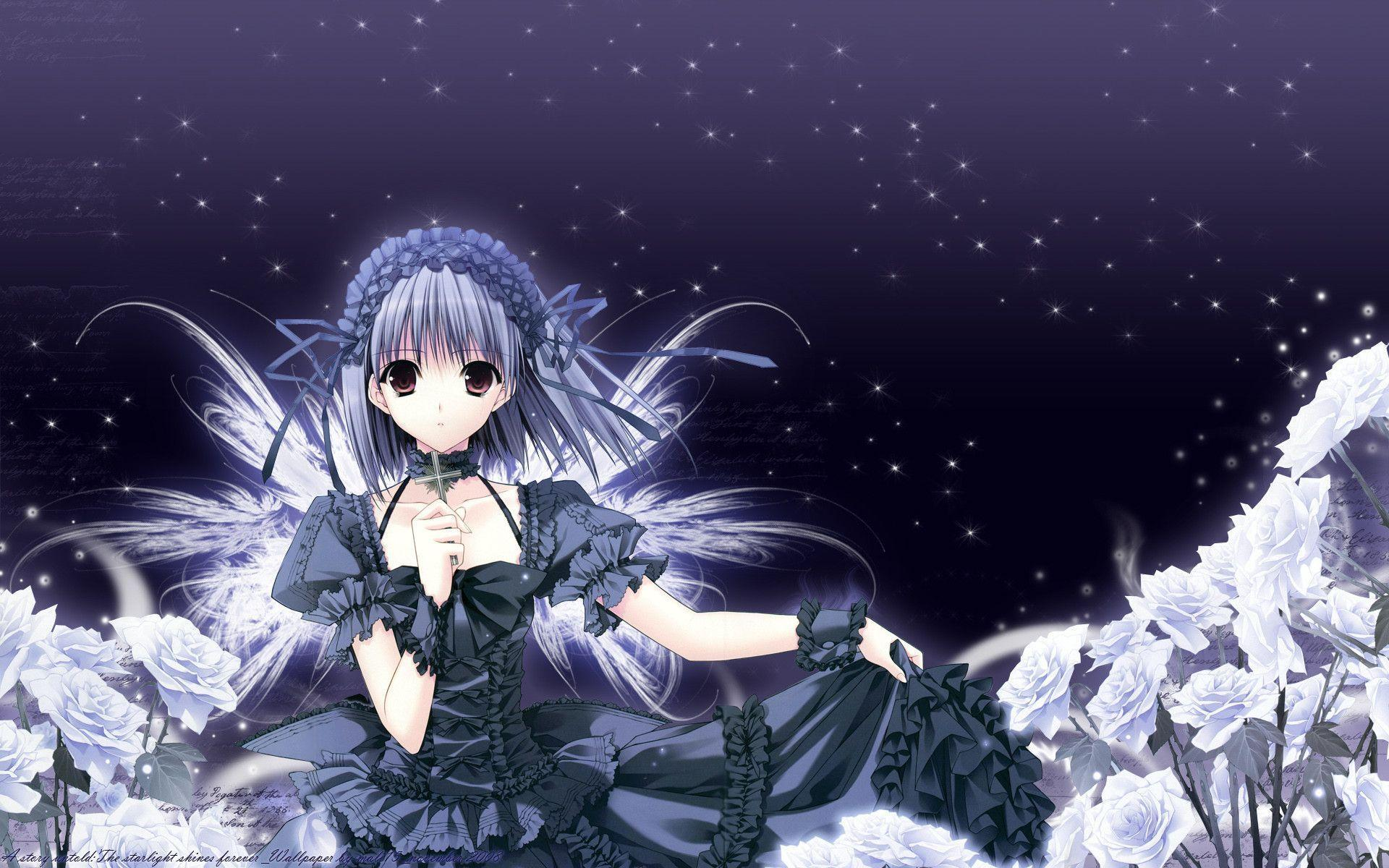 Anime angel wallpapers wallpaper cave - Dark angel anime wallpaper ...