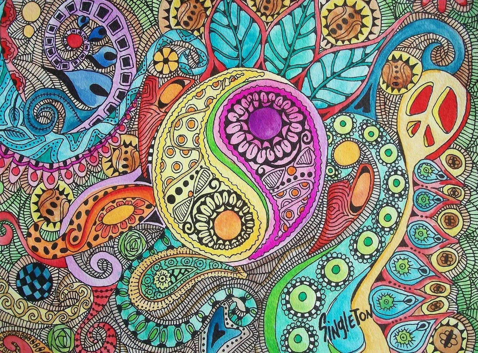 wallpapers hippie mandala - photo #3