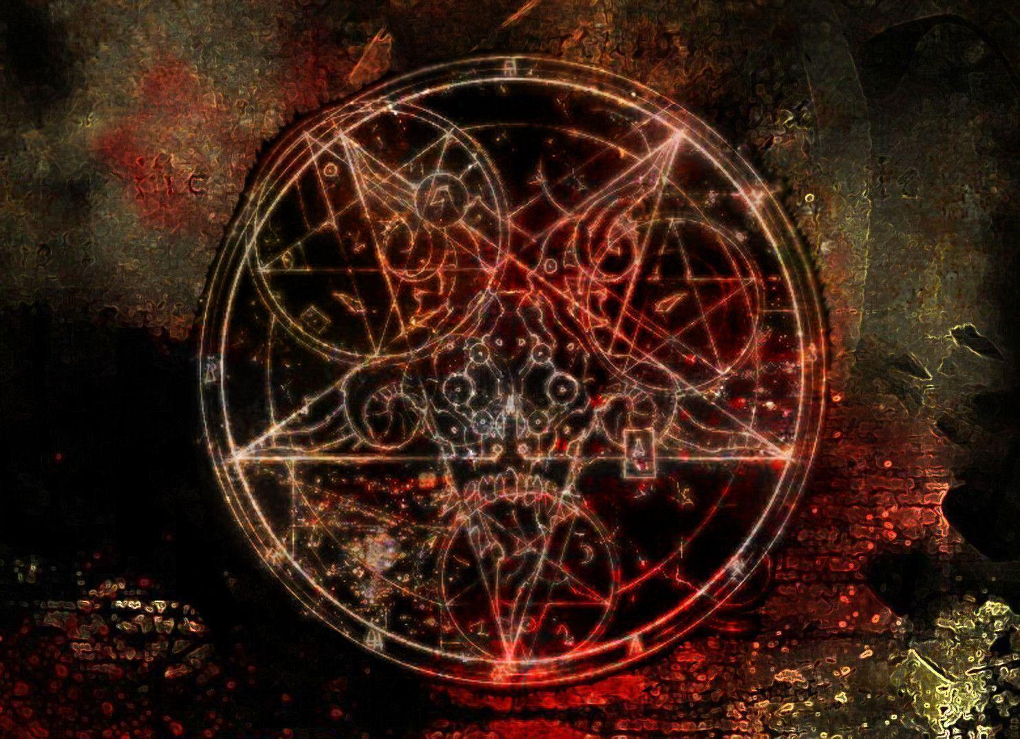 Magnusharvest Summoning Of A Demon Wallpaper