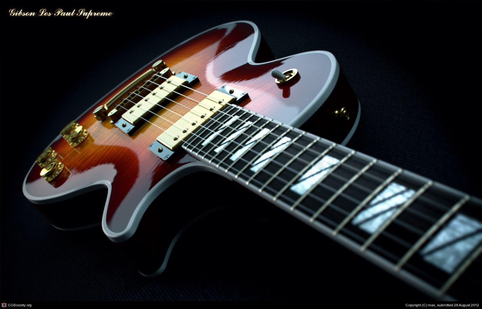 guitar wallpaper les paul - photo #2