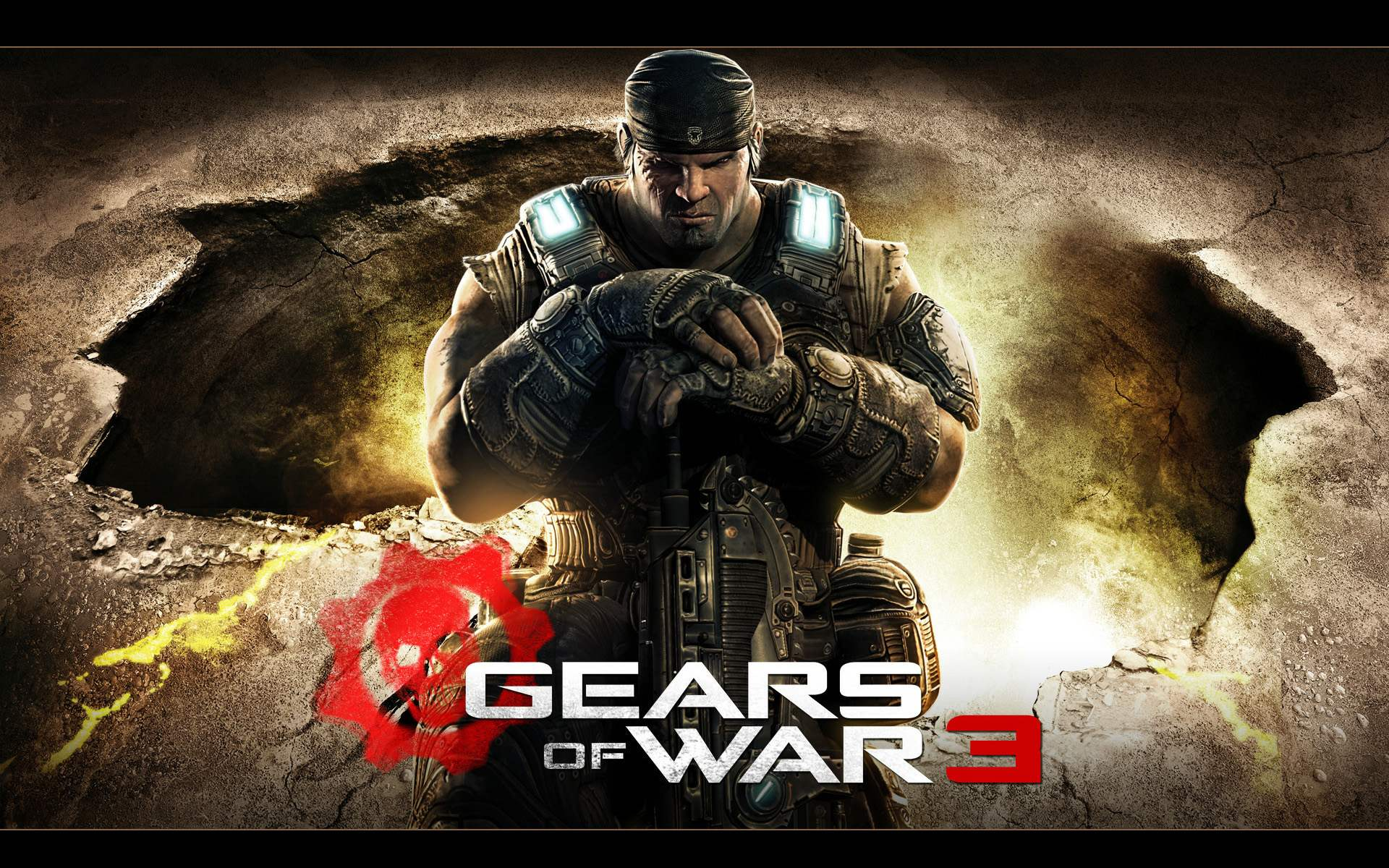 Gears of War 3 PS4 game for iPad wallpapers