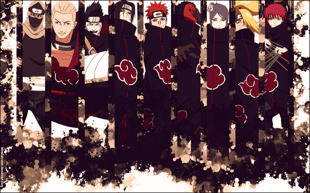 akatsuki wallpapers wallpaper cave