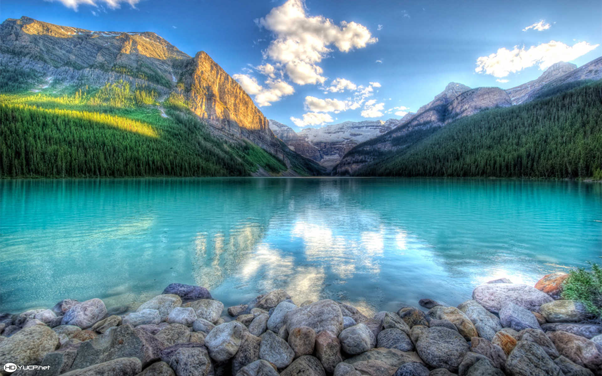Lake Louise Canada Wallpaper - iBackgroundWallpaper