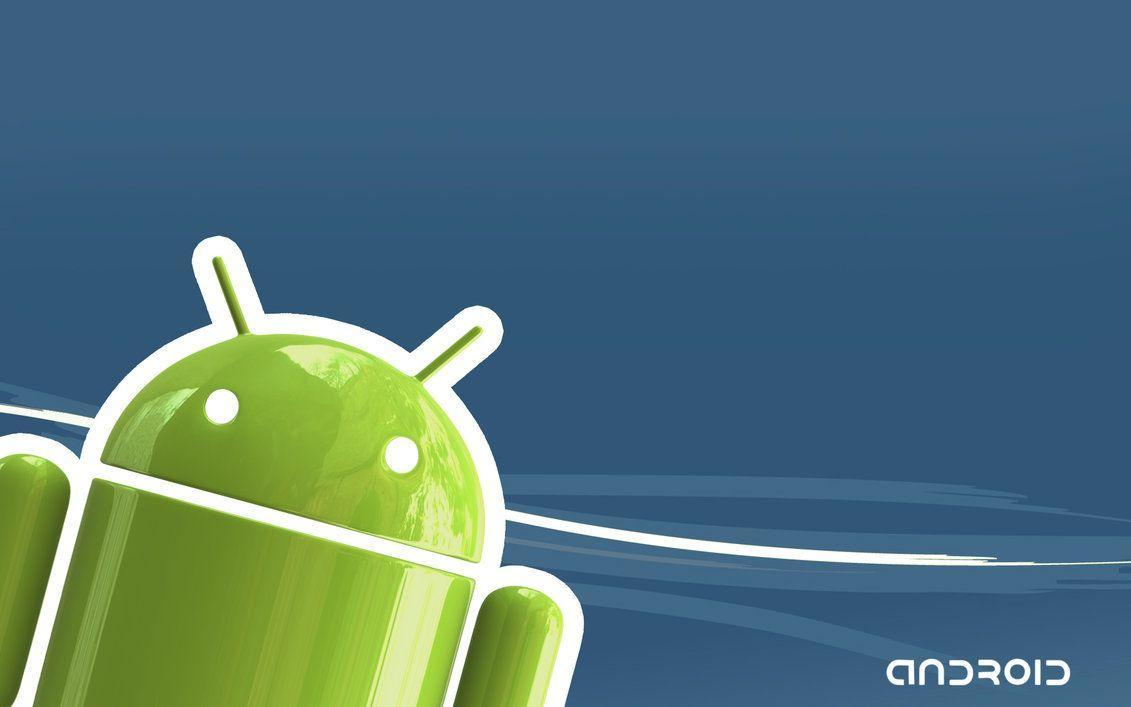 3D Android Wallpapers Blue by HappyBlueFrog