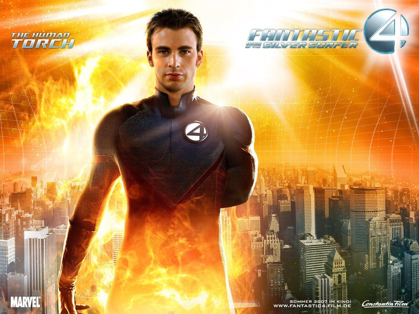 Human Torch Wallpapers