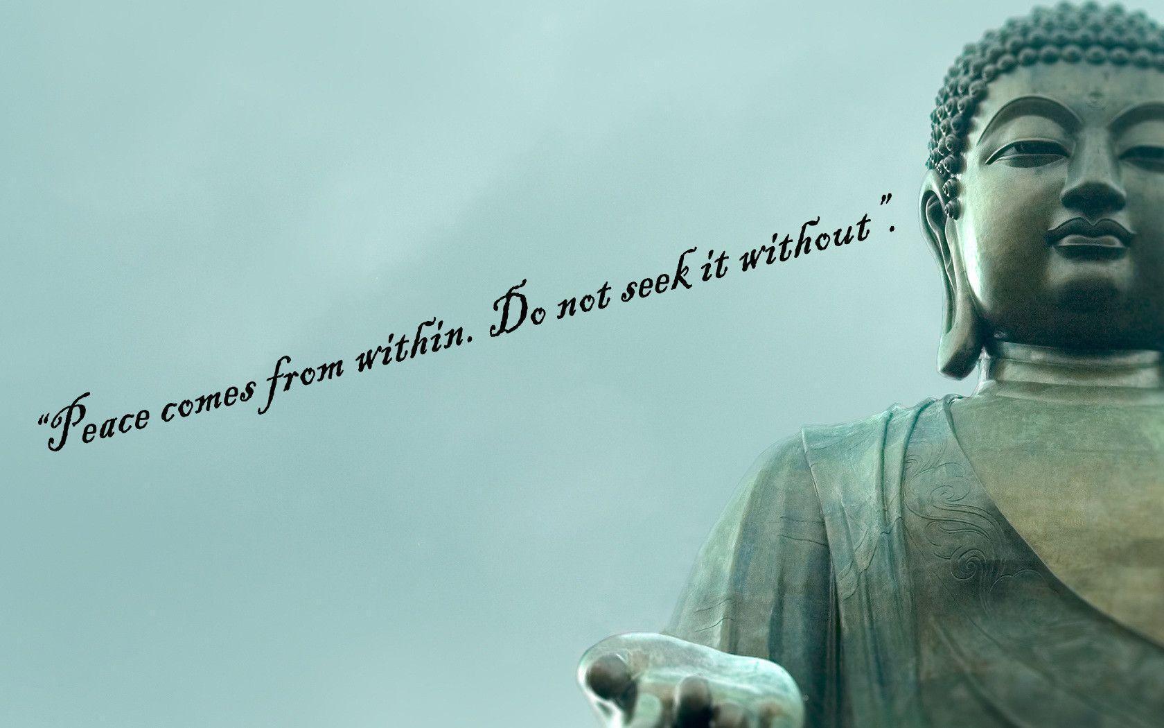 Wallpaper Buddha Quotes